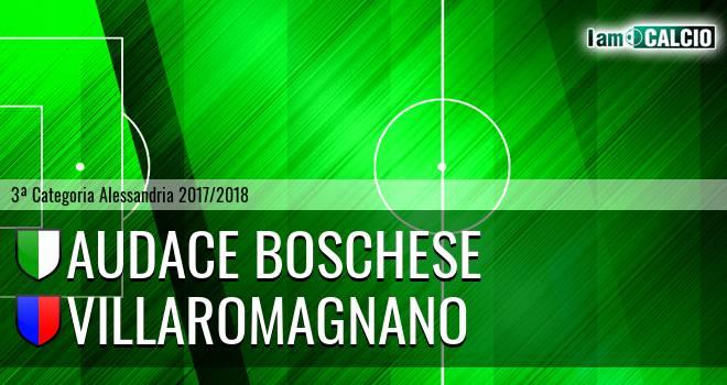 Audace Boschese - Villaromagnano