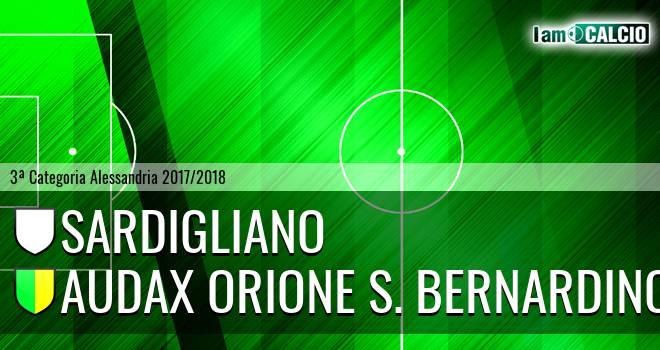 Sardigliano - Audax Orione S. Bernardino