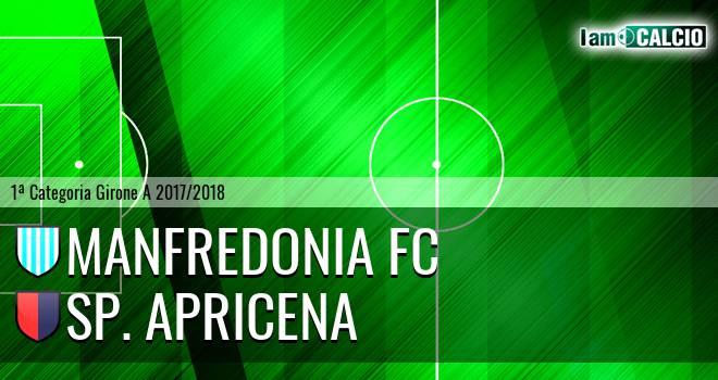 Manfredonia FC - Sporting Apricena