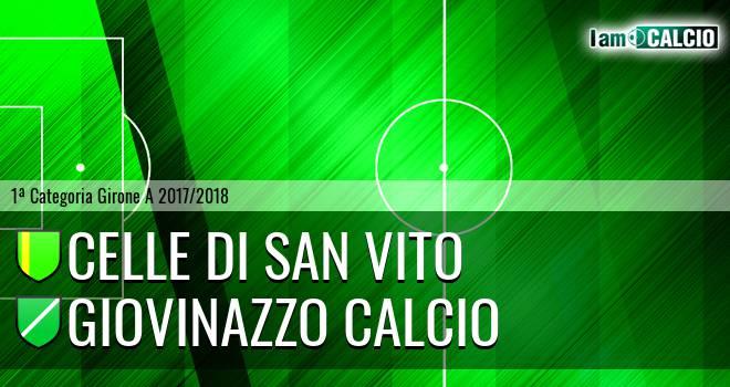 Celle Di San Vito - Giovinazzo Calcio