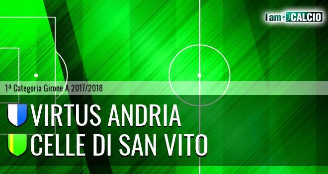 Virtus Andria - Celle Di San Vito