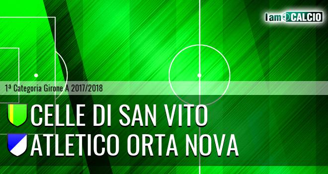 Celle Di San Vito - Team Orta Nova