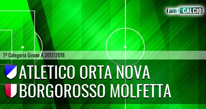 Team Orta Nova - Borgorosso Molfetta