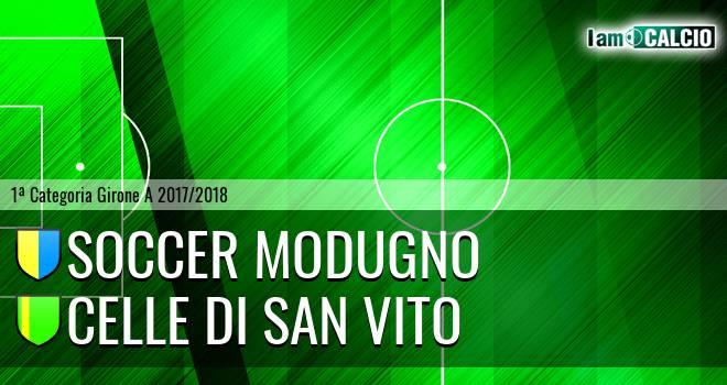 Soccer Modugno - Celle Di San Vito