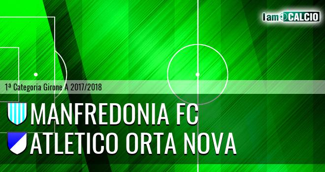 Manfredonia FC - Team Orta Nova