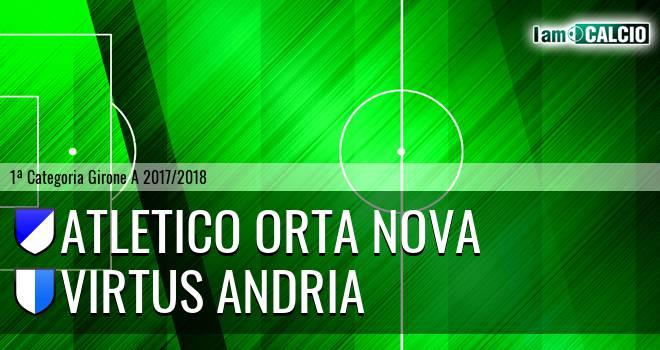 Team Orta Nova - Virtus Andria