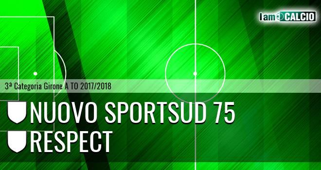 Nuovo Sportsud 75 - Respect