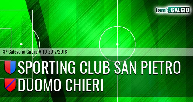 Sporting Club San Pietro - Duomo Chieri