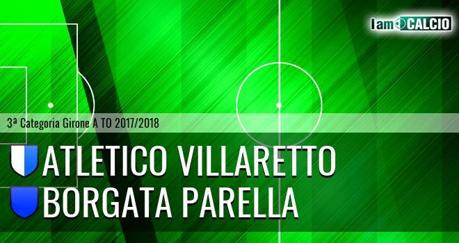 Atletico Villaretto - Borgata Parella