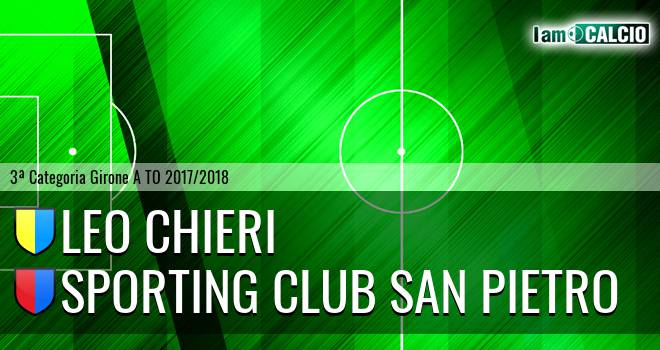 Leo Chieri - Sporting Club San Pietro