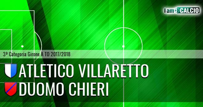 Atletico Villaretto - Duomo Chieri