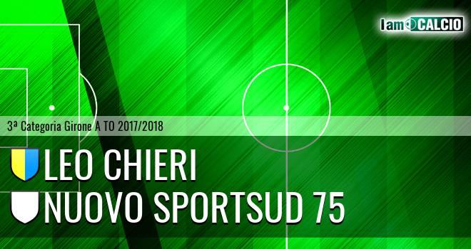 Leo Chieri - Nuovo Sportsud 75
