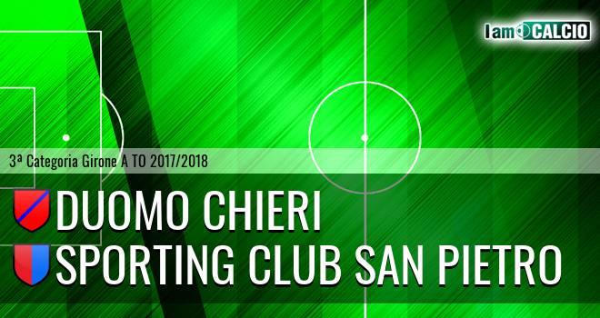 Duomo Chieri - Sporting Club San Pietro