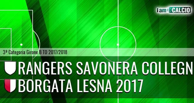 Rangers Savonera Collegno - Borgata Lesna 2017