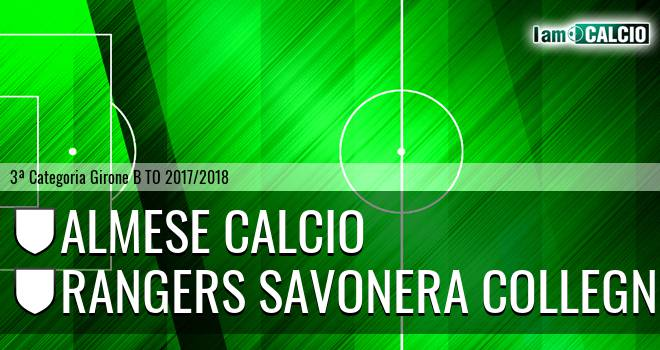 Almese Calcio - Rangers Savonera Collegno