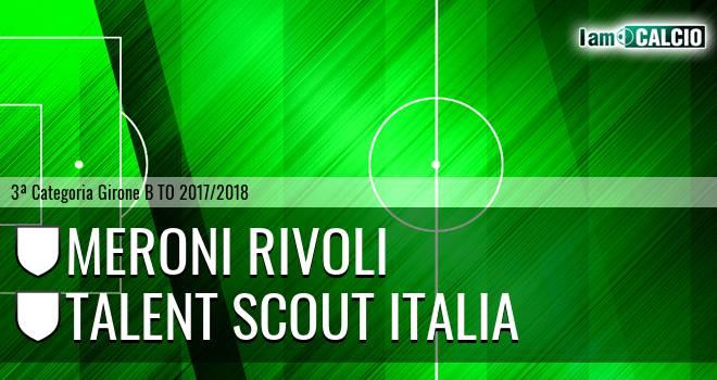 Meroni Rivoli - Talent Scout Italia