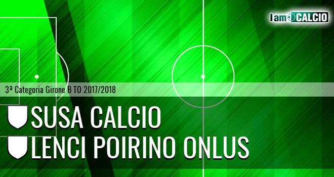 Susa Calcio - Lenci Poirino Onlus