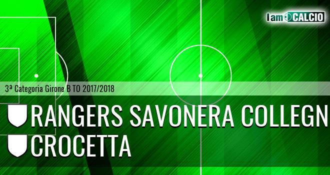 Rangers Savonera Collegno - Crocetta
