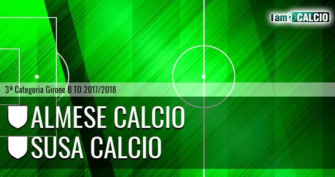 Almese Calcio - Susa Calcio