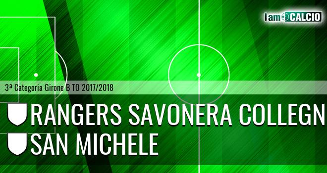 Rangers Savonera Collegno - San Michele