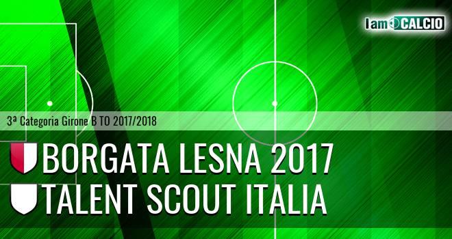 Borgata Lesna 2017 - Talent Scout Italia