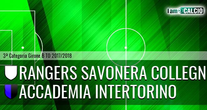 Rangers Savonera Collegno - Accademia Intertorino