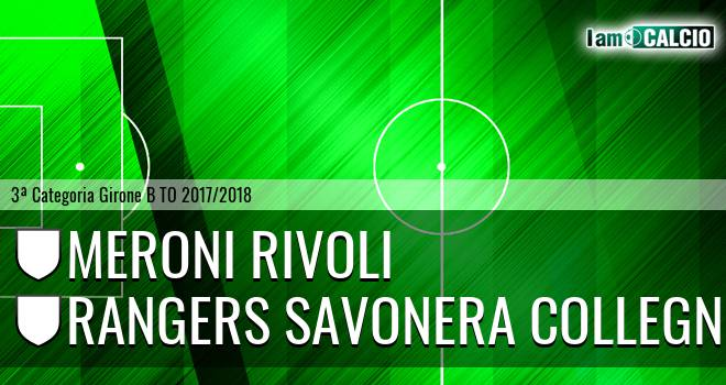 Meroni Rivoli - Rangers Savonera Collegno