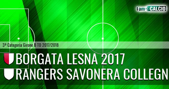 Borgata Lesna 2017 - Rangers Savonera Collegno