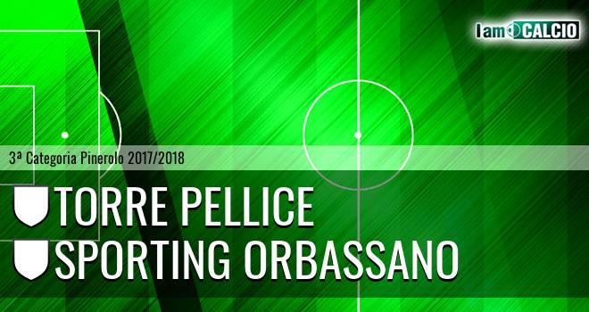 Torre Pellice - Sporting Orbassano