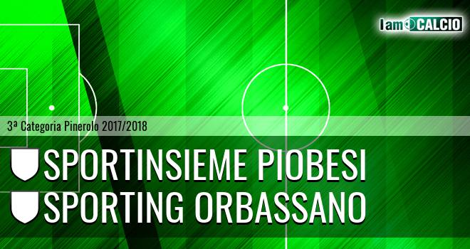 Sportinsieme Piobesi - Sporting Orbassano