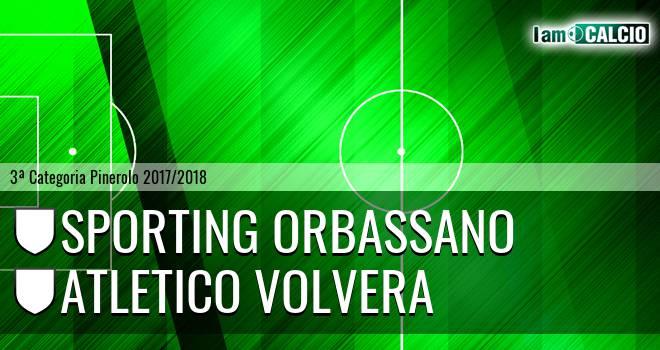 Sporting Orbassano - Atletico Volvera