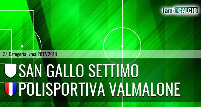 San Gallo Settimo - Polisportiva Valmalone