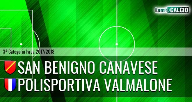 San Benigno Canavese - Polisportiva Valmalone