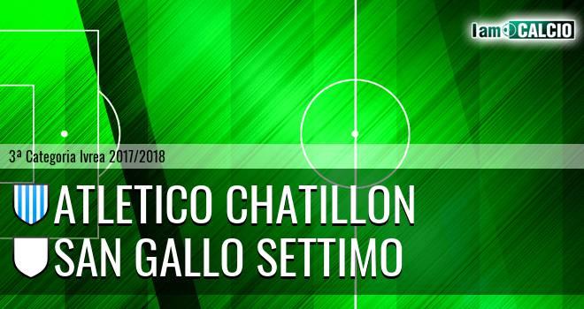Atletico Chatillon - San Gallo Settimo