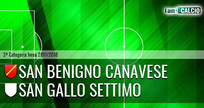 San Benigno Canavese - San Gallo Settimo