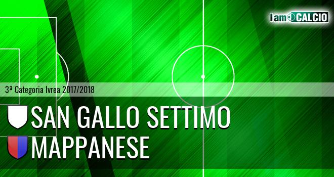 San Gallo Settimo - Mappanese