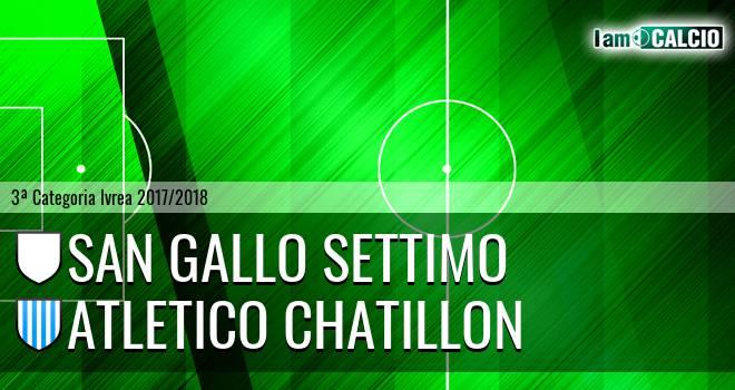 San Gallo Settimo - Atletico Chatillon
