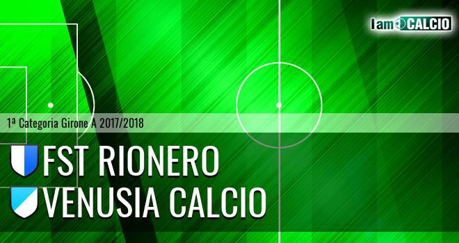 FST Rionero - Venusia Calcio