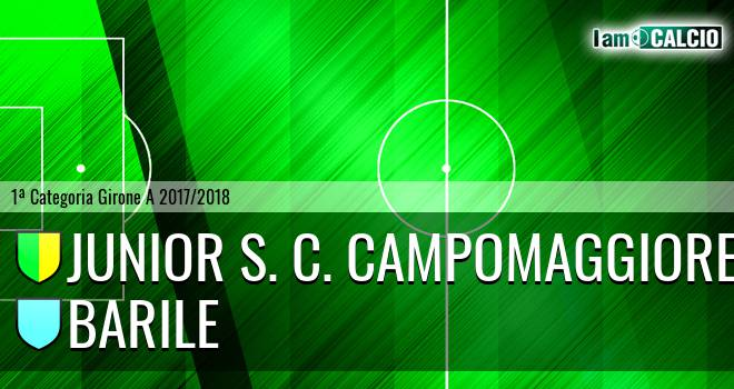 Junior S. C. Campomaggiore - Barile