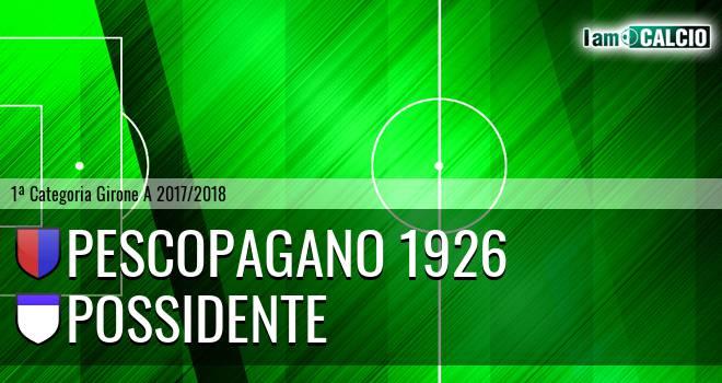 Pescopagano 1926 - Possidente