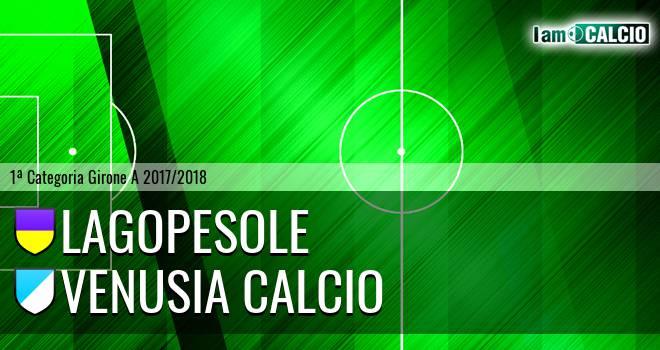 Lagopesole - Venusia Calcio