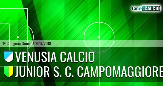 Venusia Calcio - Junior Campomaggiore
