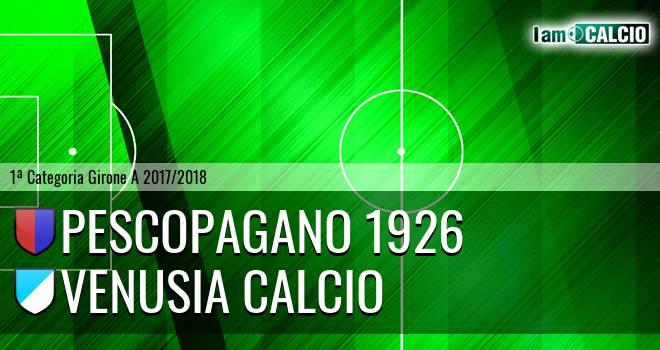 Pescopagano - Venusia Calcio