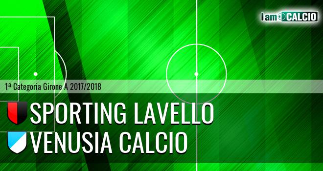 Sporting Lavello - Venusia Calcio