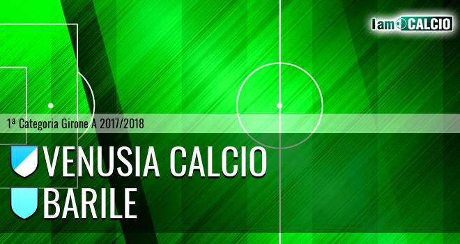 Venusia Calcio - Barile