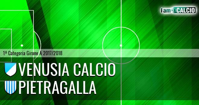 Venusia Calcio - Pietragalla