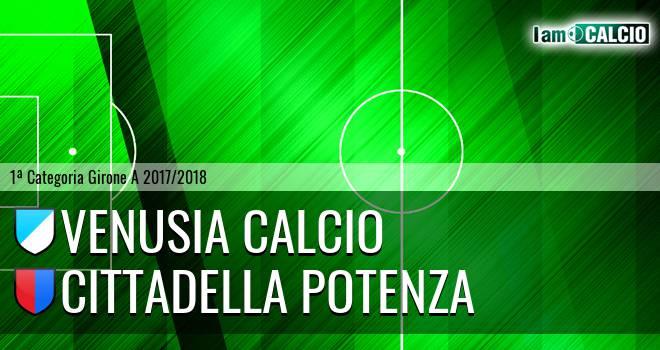 Venusia Calcio - Cittadella Potenza