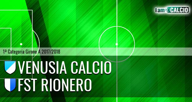 Venusia Calcio - FST Rionero