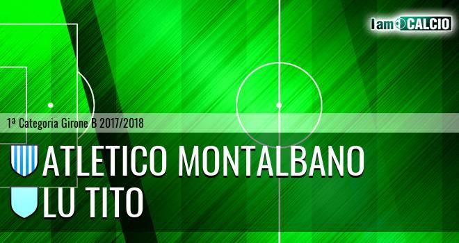Atletico Montalbano - Lu Tito