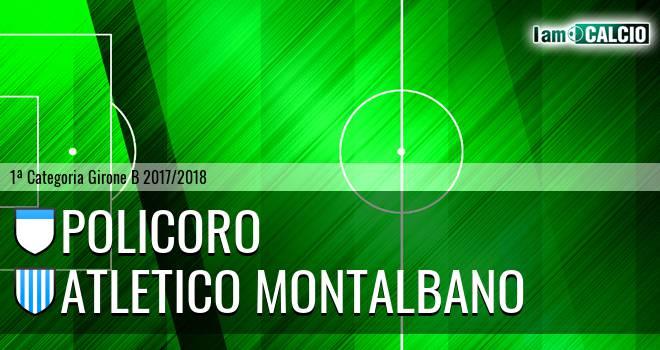 Policoro - Atletico Montalbano